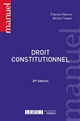 DROIT CONSTITUTIONNEL - 39EME EDITION